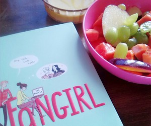 books and food image