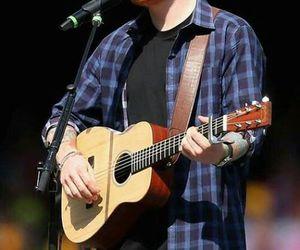 ed, guitar, and ed sheeran image