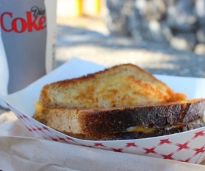diet coke, grilled cheese, and quality tumblr image