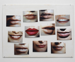 grunge, vintage, and lips image