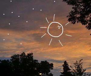 sun, sky, and stars image