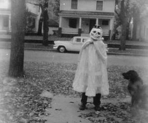 Halloween, black and white, and costume image