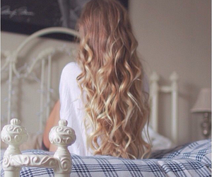 hair, style, and blonde image