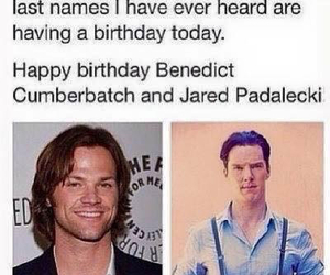 birthday, funny, and supernatural image