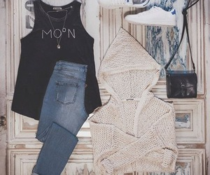 moon and outfit image
