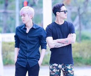 teen top, chunji, and c.a.p image