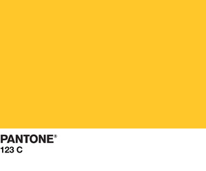 pantone and yellow image