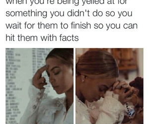 funny, beyoncé, and facts image