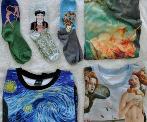 art and clothes image