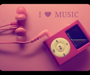 favorite, music, and pink image
