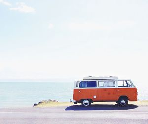 car, summer, and sea image
