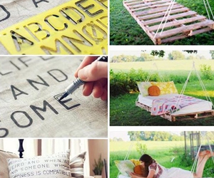 letras, almohada, and ideas creativas image