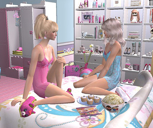 pink, sims, and cute image