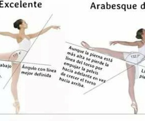 arabesque and ballet image