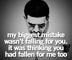 quote, Drake, and mistakes image