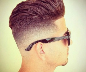 hairstyle, men, and men style image