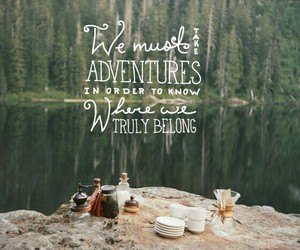 adventure, forest, and inspiration image