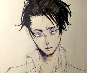 snk, rivaille, and heichou image