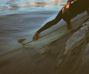 beach, life, and surf image