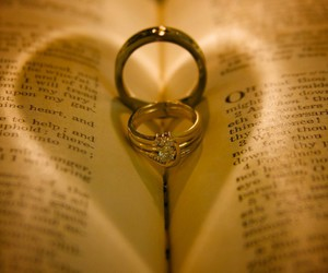 bible, heart, and pudding image