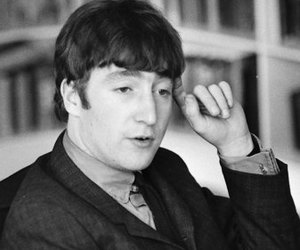1964, johnlennon, and face image