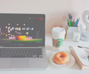 donuts, starbucks, and friends image