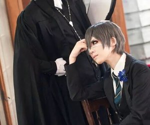 cosplay, anime, and black butler image
