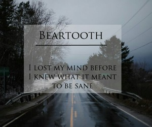 band, beartooth, and quote image