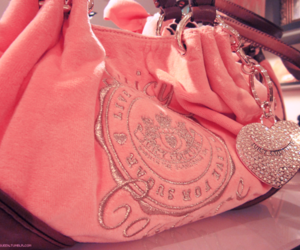 pink, bag, and juicy couture image