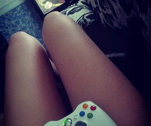 games, pink, and xbox image