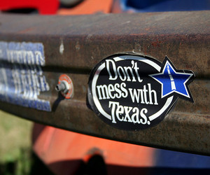 south, Texas, and sticker image