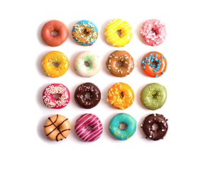 donuts, sweet, and cute image