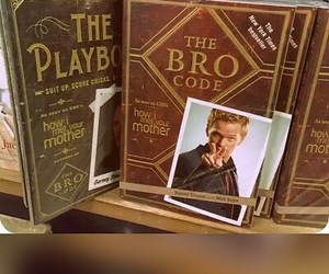 Barney Stinson, how i met your mother, and The Bro Code image