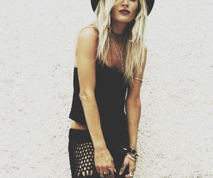 black, boho, and witchy image