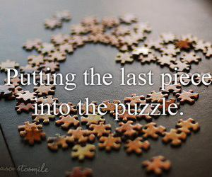 last, piece, and putting image