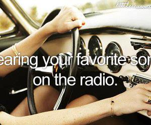 radio, song, and music image
