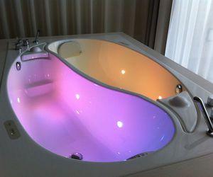 bath, luxury, and purple image