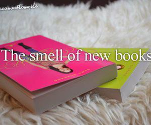 book, smell, and new image