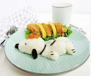 food, kawaii, and bento image
