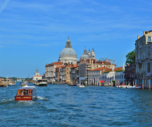 blue, summer, and venice image