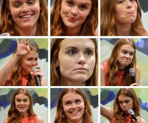 funny face, teen wolf, and holland roden image