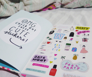 bando, chic, and stickers image