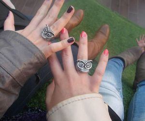 colours, ring, and nails image