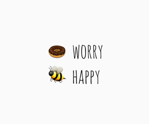 bee, donut, and funny image
