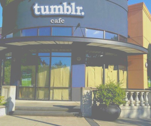 tumblr, cafe, and coffee image