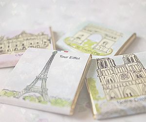 paris, eiffel tower, and pastel image