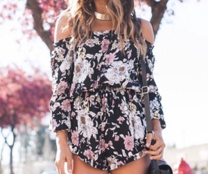 flowers and outfit image