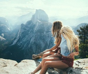 friends, mountains, and goals image