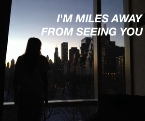 distance, girl, and grunge image