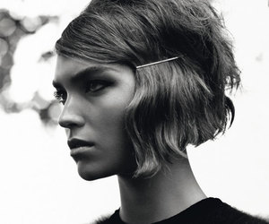 60s, hairstyle, and mod image